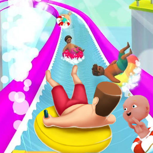 Waterpark Slide io Game